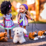 Lauryce and Rahel Dolls