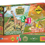 CROCS AND GIRAFFE BOARD GAME